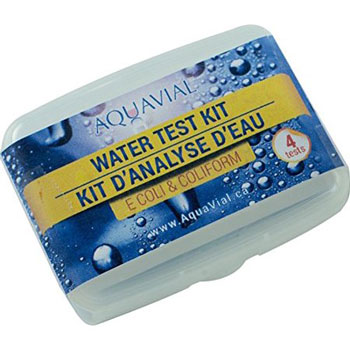 AquaVial E.Coli and Coliform Water Test Kit