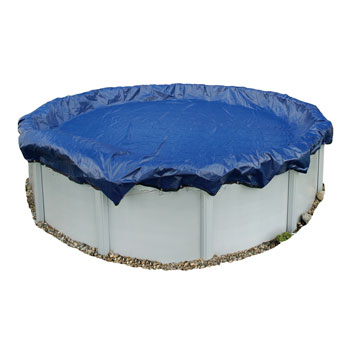 Blue Wave Gold Round Above Ground Winter Cover