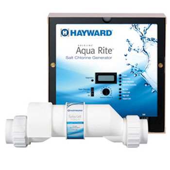 Hayward Goldline AQR9 AquaRite Salt Water Chlorinator System