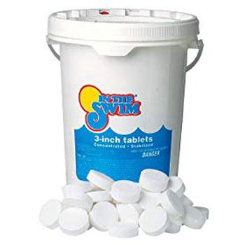 In The Swim 3 Inch Pool Chlorine Tablet