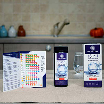 ON4HOME 16-in-w Water Test Strips
