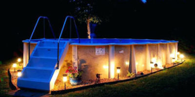 Above Ground Pool Lights Featured Image