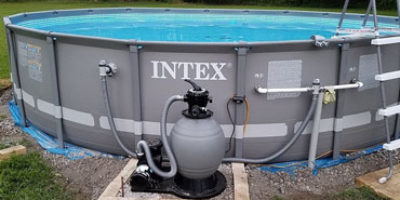 Above Ground Pool Pump Featured Image