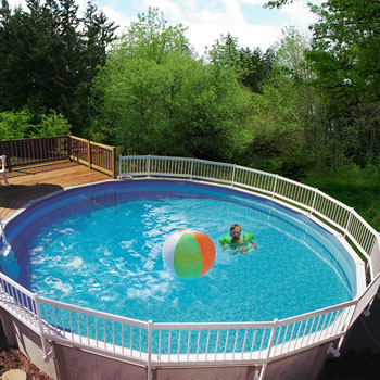 GLI Pool Products Above Ground Pool Fence