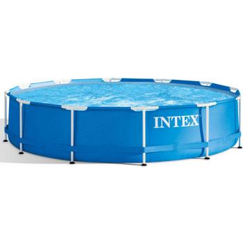 Intex Metal Frame Pool with Pump