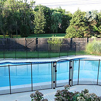 Sentry Safety Pool Fence See-Thru Pool Fence