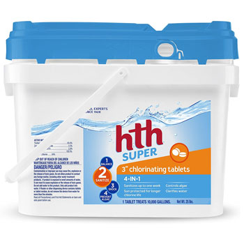 hth Pool Sanitizer Chlorinating Tables